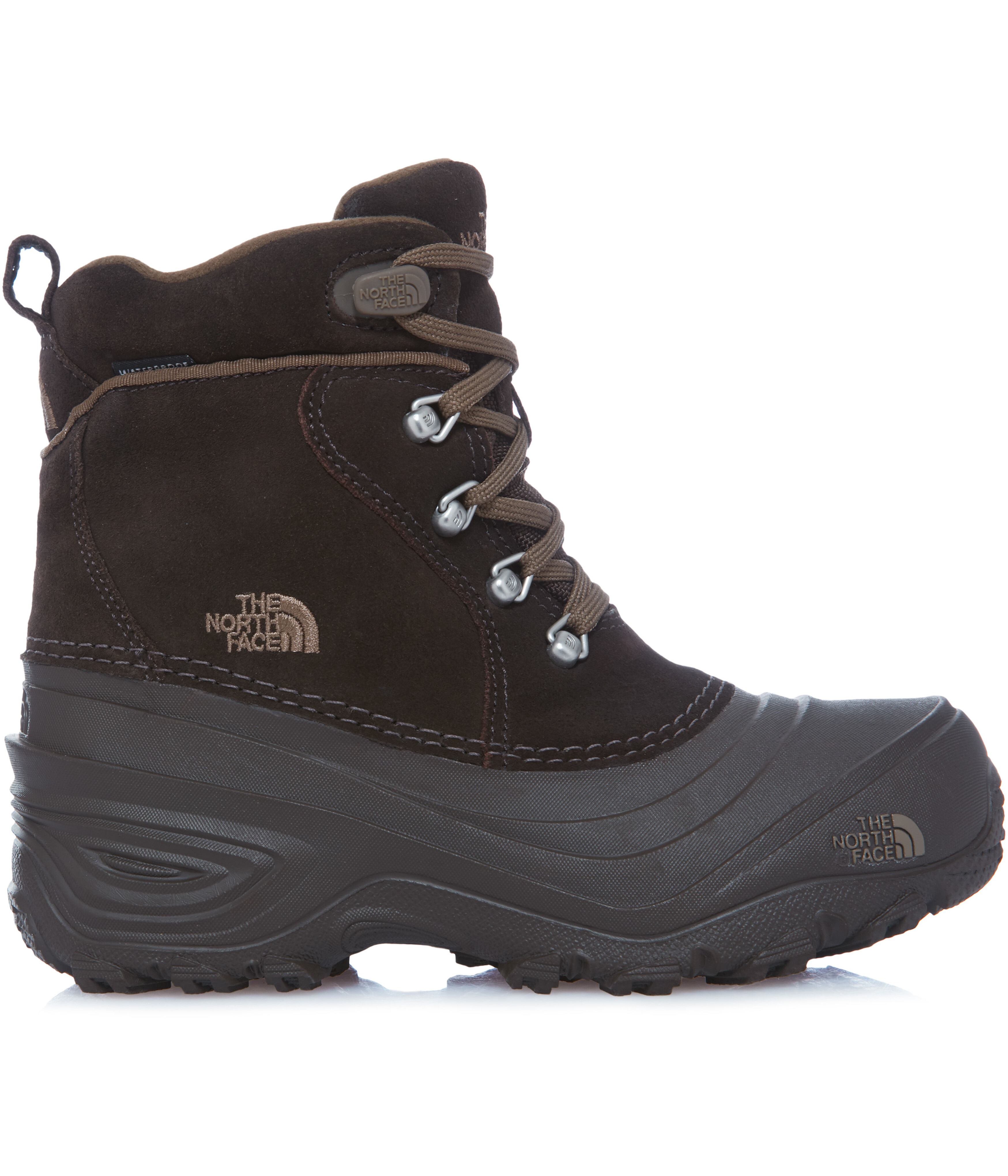 590743d69 The North Face Chilkat Lace II Boots Kids demitasse brown/cub brown